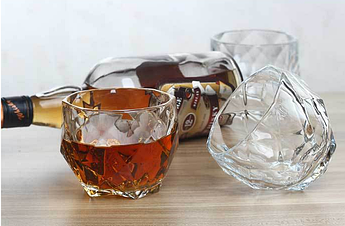 "Набор 2 стакана для виски 640006 ""Діамант"""