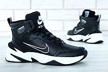 Мужские кроссовки Nike M2K Tekno Winter черные, фото 2
