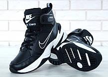 Мужские кроссовки Nike M2K Tekno Winter черные, фото 3