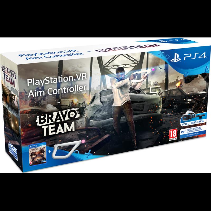 Игра Bravo Team + Aim Controller (для PS VR)