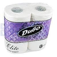 """Туалетная бумага на гильзе трехслойная, белая """"Диво Elite"""" (4шт)"""