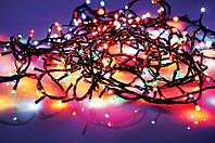 Гирлянда светодиодная 400 ламп (LED) микс черный провод