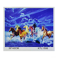 Картинка по номерам KTL 1506 в коробке 30-40см