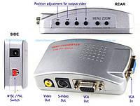 Универсальный конвертер VGA TV RCA converter, фото 1