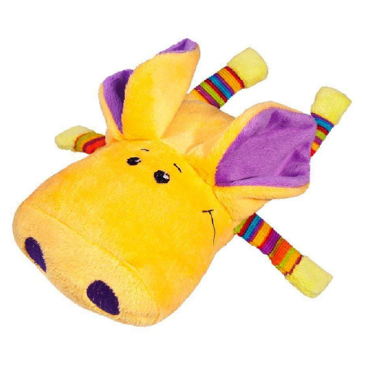 Свинка Плюша жёлтая, 18 см, «FANCY» (SPL0-1)