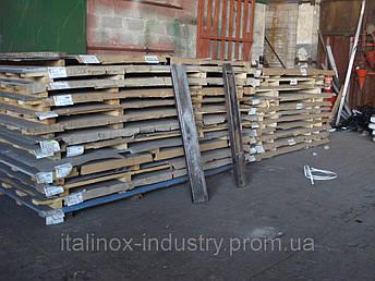 Нержавеющий лист техничка AISI 430 1,5 х 1250 х 2500 BA+ПЕ, фото 2