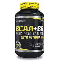 Аминокислоты (БЦАА) Biotech USA BCAA+B6 (200 таблеток.)