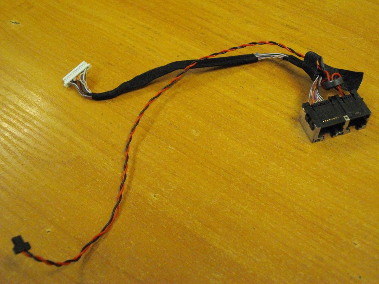 Гнездо разъем сеть интернета с шлейфом Toshiba SPM30 PSM35E M30 M35 PSM35E-000MN-RU бу