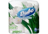 """Туалетная бумага на гильзе двухслойная, белая """"Диво Econom"""" (4шт)"""