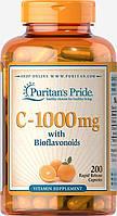 Витамины Puritans Pride Vitamin С-1000 mg with Bioflavonoids, 200caps