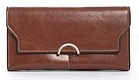 Стильный интересный женский  прочный кошелек Saralyn art. 6605 коричневый, фото 1