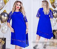 Асиметричне плаття, з 50 по 64 розмір, фото 1