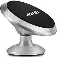 Автодержатель AWEI X6 Silver