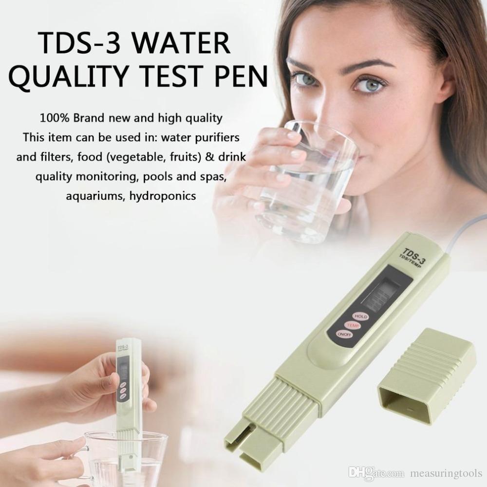 Портативний аналізатор якості води TDS (ТДС) метр TDS-3 ( СОЛЕМІР)