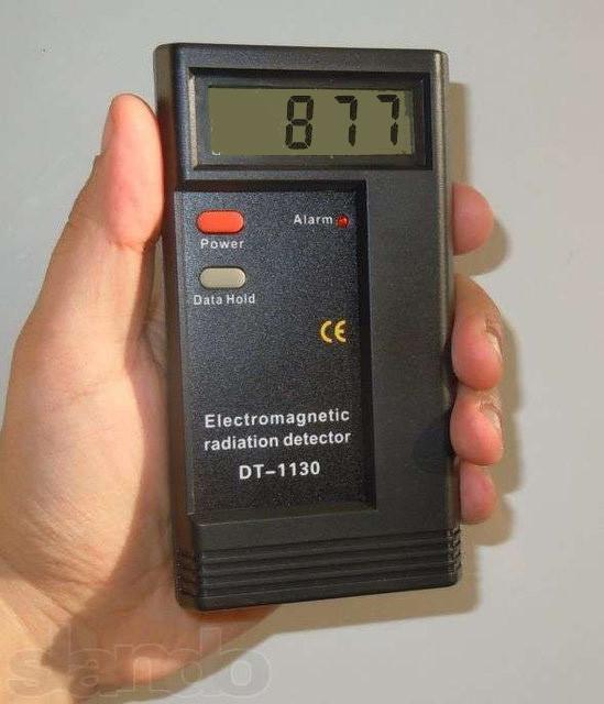 Детектор тестер электромагнитного поля излучения DT-1130