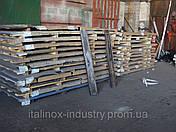 Нержавеющий лист AISI 430 08X17 3,0 х 1000 х 2000 BA+ПЕ, фото 3
