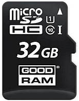 Карта памяти Goodram microSDHC/SDXC class10 UHS-1 SD adapter 32Gb