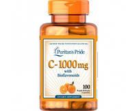 Витамины Puritans Pride Vitamin C-1000 mg with Bioflavonoids, 100caps
