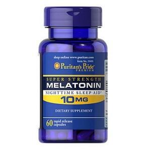 Мелатонин Puritan's Pride Melatonin 10 mg (60 таб.)