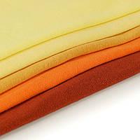 Ткань трикотаж однотонный в рулонах. Разные цвета