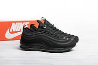 Мужские кроссовки демисезонные Nike Air Max 97 Ultra Black Реплика