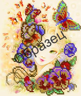 Схема для вышивки бисером «Вальс цветов»