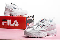 Женские кроссовки демисезонные FILA Disruptor ll Реплика, фото 1