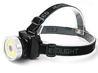 Налобный фонарь ZB-9688 COB+3W