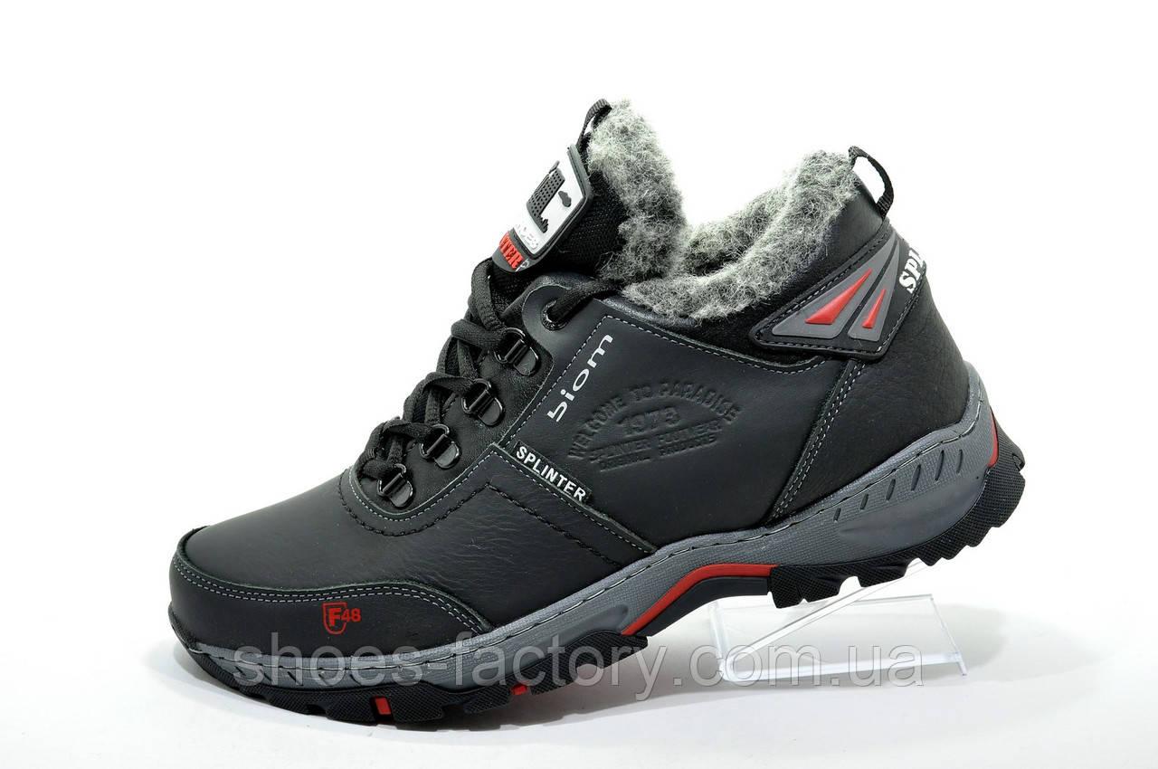 Мужские зимние ботинки Splinter, кожаные