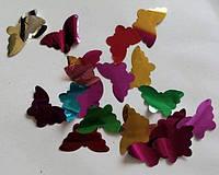 "Конфетти из фольги Disco Effect J-66B ""бабочка"" микс, 1 кг"