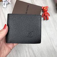 0fc63a5ad8e9 Классический кошелек Louis Vuitton LV черный мужской женский портмоне  кожзам бумажник Луи Виттон люкс реплика