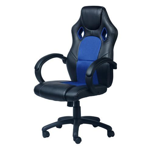 """Компьютерное кресло для геймера """"Zeus Daytona"""" Blue"""