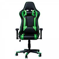 """Компьютерное кресло для геймера """"Zeus Drive"""" Green"""