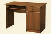 Стол письменный  однотумбовый МДФ 755х1100х500мм    Мебель-Сервис