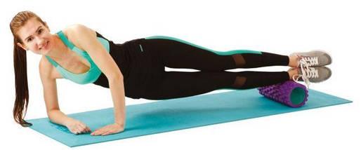 Валик для йоги, ролик массажный для спины, ролик для йоги, фото 3