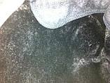 Кепка мужская серая в клетку из драпа с меховой подкладкой 56, фото 4