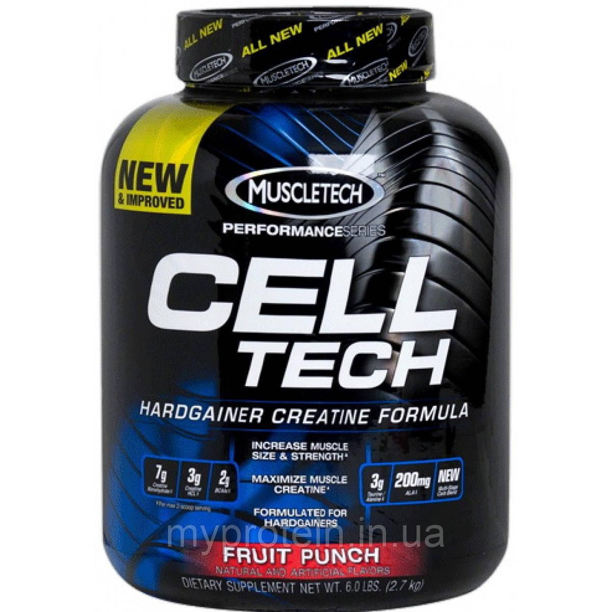 MuscleTech Креатин Cell Tech (2,7 kg )