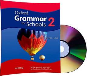 Английский язык /Oxford Grammar for Schools/Coursebook+DVD. Учебник грамматики с диском, 2 /Oxford