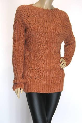 Вязаный женский свитер, фото 2