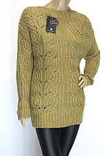 Вязаный женский свитер, фото 3