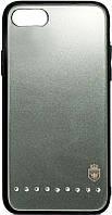 Чехол-накладка Remax Batili Series Glass Case Apple iPhone 7/8 Green