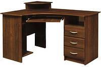Мебель-Сервис  стол письменный угловой МДФ 750х1300х900мм