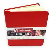 Блокнот для графики Royal Talens Art Creation красный 12х12см 140 г/м2 80 листов (8712079383602)