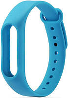 Ремешок UWatch Replacement Silicone Band For Xiaomi Mi Band 2 Blue, фото 1