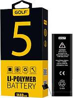 Аккумулятор GOLF iPhone 5G Battery 1440 mAh Black