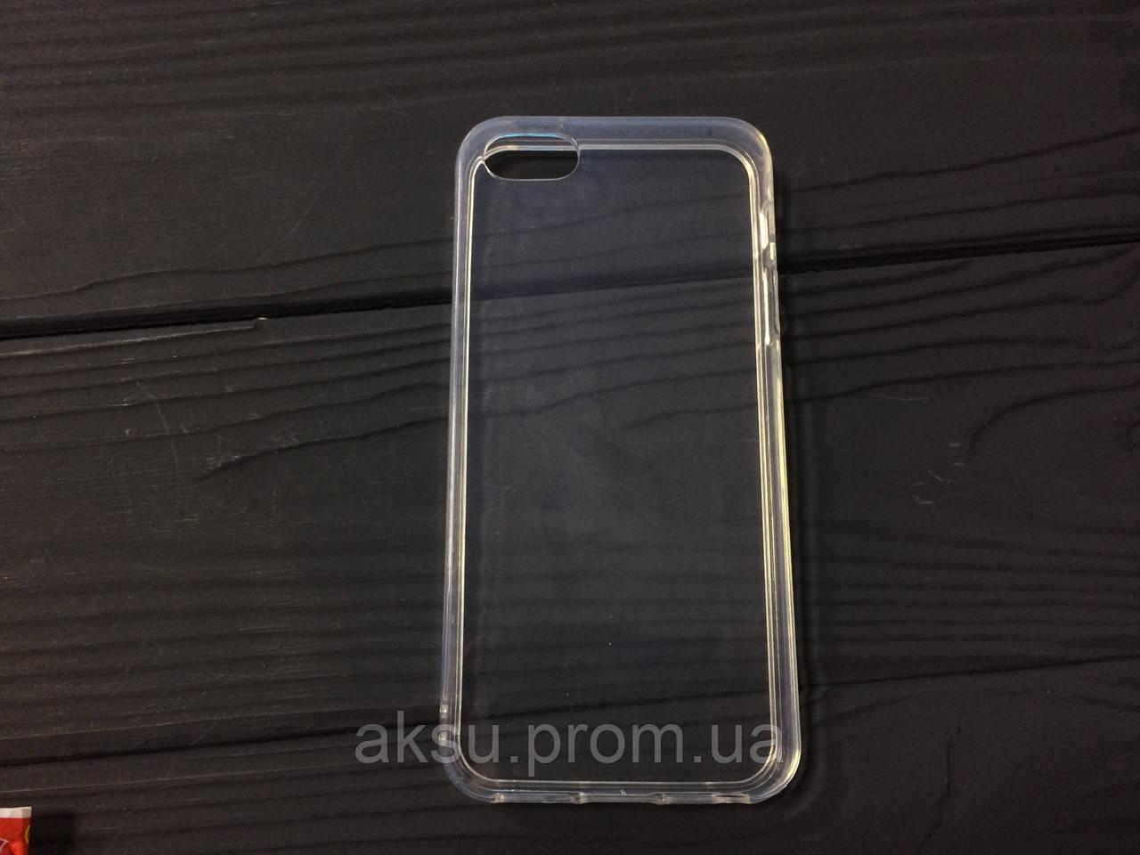 Силиконовый чехол для iPhone 5/5s/SE Прозрачный