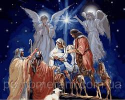 Раскраска для взрослых Дух Рождества (VP996) 40 х 50 см DIY Babylon