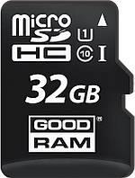 Карта памяти Goodram microSDHC class 10 UHS-1 SD adapter OTG Card reader 32Gb, фото 1