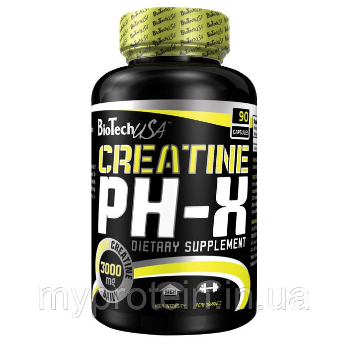 BioTech Креатин Creatine pH-X (90 caps)