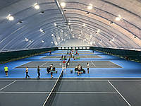 Тентовое накрытие теннисных кортов